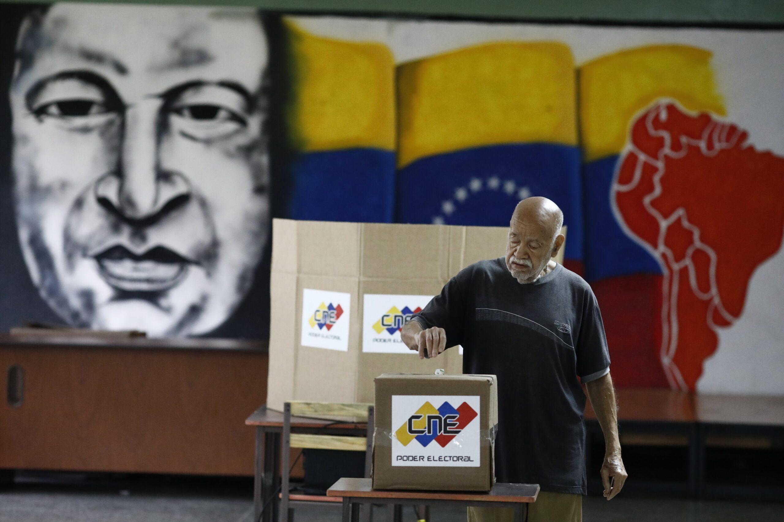 A Venezuela vence simplesmente por realizar uma eleição