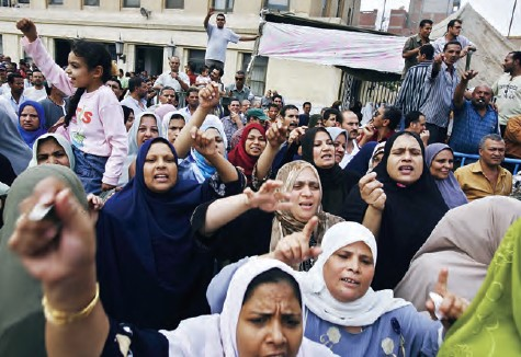 Reestruturação capitalista e o poder das trabalhadoras têxteis no Egito